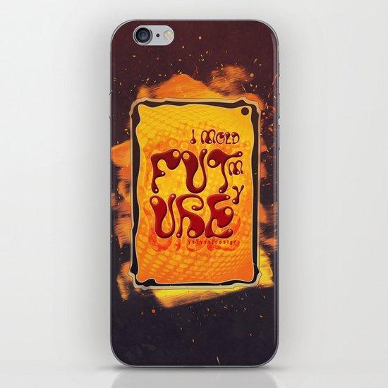 I mold my future iPhone & iPod Skin