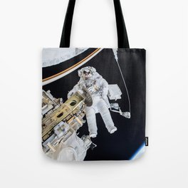 Spacewalk Tote Bag