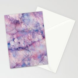 Texture Marble effect Stationery Cards