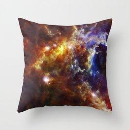 The Crab Nebula  - Beautiful Universe Throw Pillow