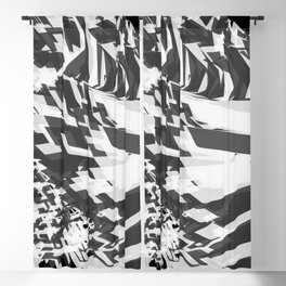 Shades Of Grey Blackout Curtain