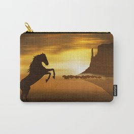 The wild mustang Carry-All Pouch