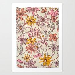 Pretty Floral Art Print