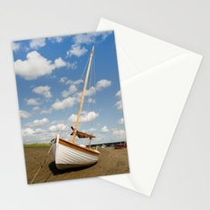 Sailing boat Wagtail Stationery Cards