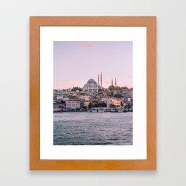Dreamy Istanbul Framed Art Print