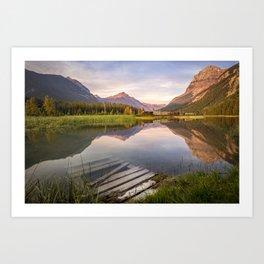 Field, British Columbia Art Print