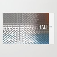 half life Area & Throw Rugs featuring HALF LIFE by bsvc