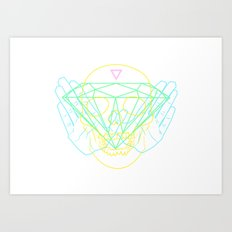 Material Art Print