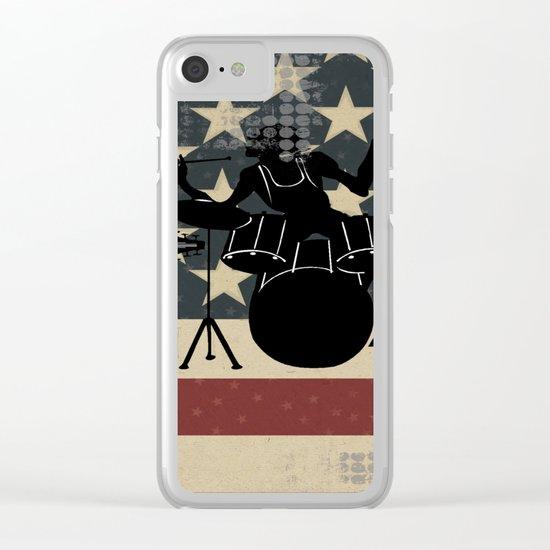 Rock America Clear iPhone Case
