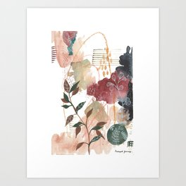 Botanical Calmness Art Print