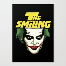 The Smiling Canvas Print