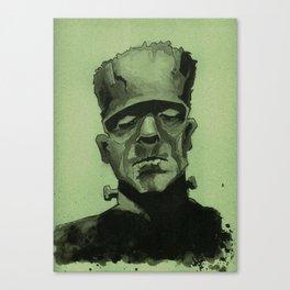 Frankentein's Monster Canvas Print