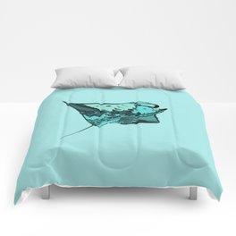 Manta Ray Manta birostris Comforters