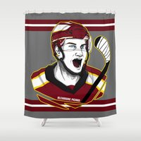 picard Shower Curtains featuring Alexandre Picard by Kana Aiysoublood