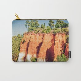 Roussillon famous for its ochre hills, Provence, France Carry-All Pouch