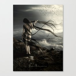 Melody for Ravens Canvas Print