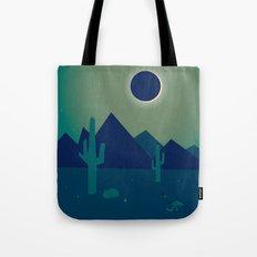 Desert Eclipse Tote Bag