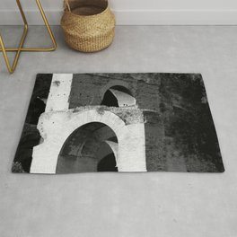 Arches Palatine Hill Rome Rug