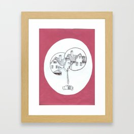 Homesick  Framed Art Print