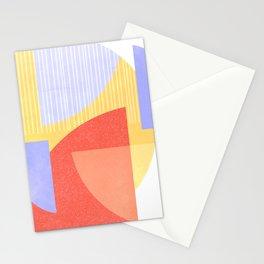 Geometric Shape Study Stationery Cards