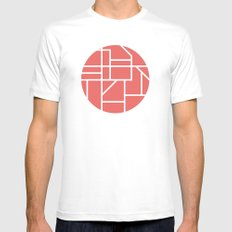 Map  Mens Fitted Tee White SMALL
