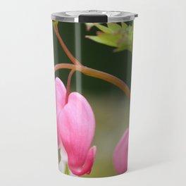 bleeding heart flower Travel Mug