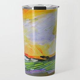 Sauvignon Blanc Label Art for BIN 616 Travel Mug