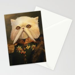 Persian Cat Emperor Stationery Cards