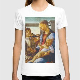 Botticelli  -  Virgin And Child With An Angel T-shirt