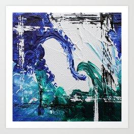Mini Series [Musical Waves - Oceanic] Art Print