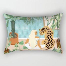 Urban Jungle #illustration #botanical Rectangular Pillow