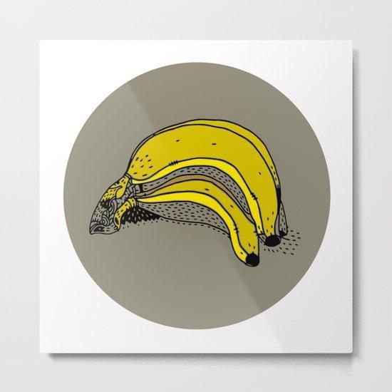 daily foods: bananas Metal Print