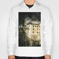 castle Hoodies featuring Castle by DistinctyDesign