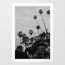 Laguna Beach Black&White | Fine Art Travel Photography Art Print