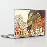life aquatic Laptop & iPad Skins featuring Aquatic by Amanda James