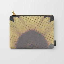 Boulder Colorado Flatirons Sunflower Decor \\ Chautauqua Park Floral Yellow Nature Bohemian Style Carry-All Pouch