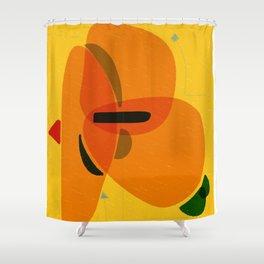 Horizons   Happy art   Wall art Shower Curtain