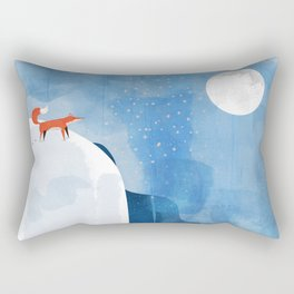 Fox In Nowhere Land Rectangular Pillow
