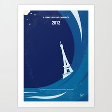 No709 My 2012 minimal movie poster Art Print