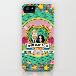 HARRY & MEGHAN iPhone Case