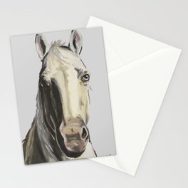 Horse Art, Farm Animal Art Stationery Cards