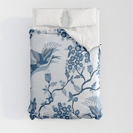 Classi Blue Chinoiserie Comforters