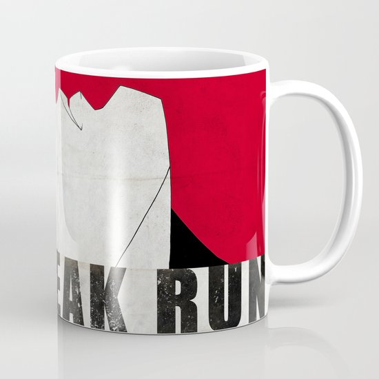 Run Freak Run - Red Mug