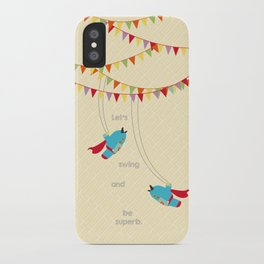 Trapeze Super Monsters iPhone Case