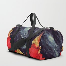 Scarlet Abstract Duffle Bag