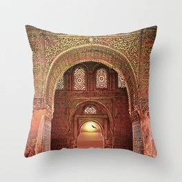 ORNATE ARCHWAY Throw Pillow
