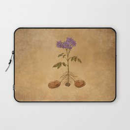 Anatomy of a Potato Plant Laptop Sleeve