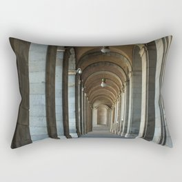 Enfilade right, Royal palace, Madrid Rectangular Pillow