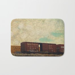 Wrong Side of the Tracks Bath Mat