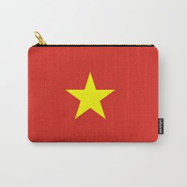 Vietnam Flag Carry-All Pouch